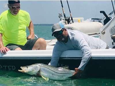 Salty Water Fishing Charters Fishing Trips Tarpon Springs Florida Tampa Bay 9845